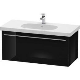 Duravit X-Large XL604904040 Тумбочка подвесная 100 см Черный глянцевый