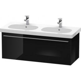 Duravit X-Large XL605004040 Тумбочка подвесная 115 см Черный глянцевый