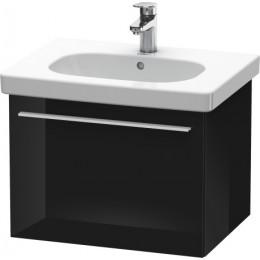 Duravit X-Large XL605104040 Тумбочка подвесная 60 см Черный глянцевый