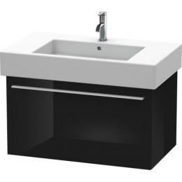 Duravit X-Large XL605204040 Тумбочка подвесная 80 см Черный глянцевый