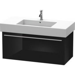 Duravit X-Large XL605304040 Тумбочка подвесная 100 см Черный глянцевый