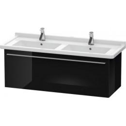 Duravit X-Large XL605904040 Тумбочка подвесная 120 см Черный глянцевый