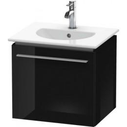Duravit X-Large XL606004040 Тумбочка подвесная 50 см Черный глянцевый