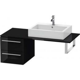 Duravit X-Large XL672204040 Шкаф для консоли 40 см Черный глянцевый