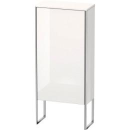 Duravit XSquare XS1304L2222 Шкаф 50 см Белый глянцевый