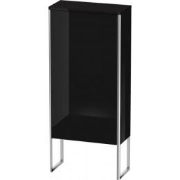 Duravit XSquare XS1304L4040 Шкаф 50 см Черный глянцевый