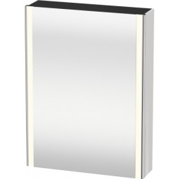 Duravit XSquare XS7111L2222 Зеркало с подсветкой 60 см Белый глянцевый