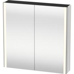 Duravit XSquare XS711202222 Зеркало с подсветкой 80 см Белый глянцевый