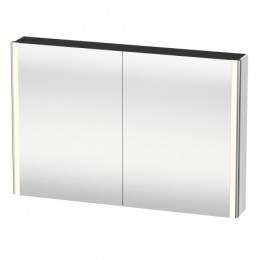 Duravit XSquare XS711402222 Зеркало с подсветкой 120 см Белый глянцевый