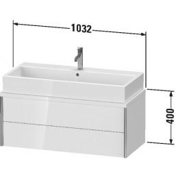 Duravit XVIU XV59090B121 Тумбочка для консоли 103 см Орех темный