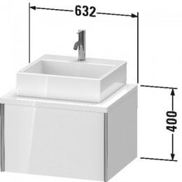 Duravit XVIU XV59100B171 Тумбочка для консоли 63 см Средиземноморский дуб