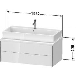 Duravit XVIU XV59190B121 Тумбочка для консоли 103 см Орех темный