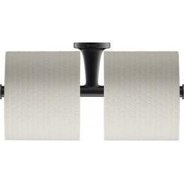 Duravit Starck T 0099384600 двойной держатель для туалетной бумаги Черный матовый