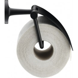 Duravit Starck T 0099404600 держатель для туалетной бумаги с крышкой Черный матовый