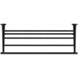 Duravit Starck T 0099444600 Полочка для полотенец 60 см Черный матовый