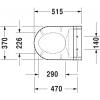 Крышка-биде для унитаза Duravit SensoWash Starck C 610001002000300