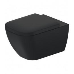 Duravit Happy D.2 Plus 2222098900, Унитаз подвесной, цвет черный
