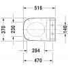 Крышка-биде для унитаза Duravit SensoWash Starck C 610300002000300