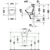 Крышка-сиденье для унитаза микролифт Duravit Happy D.2 0064590000