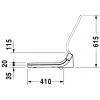 Крышка-сиденье Duravit SensoWash Starck C 610200002000300