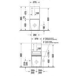 Бачок для унитаза Duravit Starck 2 0933000005