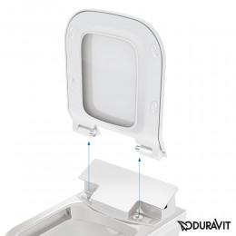 Крышка-биде для унитаза Duravit SensoWash Slim 611400002000300