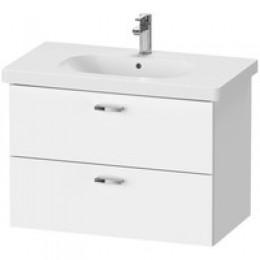Duravit XBase комплект мебели с раковиной 100 см цвет белый матовый XB619301818 + 03421000002