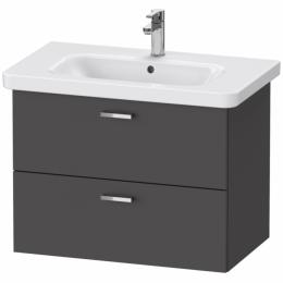 Duravit XBase комплект мебели с раковиной 100 см цвет графит матовый XB619304949 + 03421000002