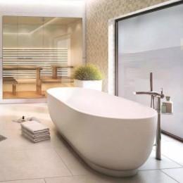 Duravit Luv 700434000000000, Ванна отдельностоящая, цвет белый