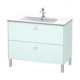 Duravit Brioso BR440300909, Тумба напольная, 129 см, цвет светло-голубой