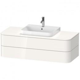 Duravit Happy D.2 Plus HP497202222, Тумба подвесная, 130 см, цвет белый