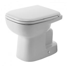 Duravit D-Code 21100100002, Унитаз напольный, цвет белый
