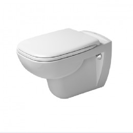 Duravit D-Code 45700900A1 (257009+006739), Комплект: унитаз+сиденье, цвет белый