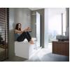 Duravit Shower + Bath 700404000100000 Ванна правосторонняя белый