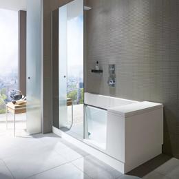 Duravit Shower + Bath 700404000100000, Ванна правосторонняя, цвет белый