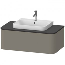 Duravit Happy D.2 Plus HP493109292, Тумба подвесная, 100 см, цвет серый камень