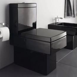 Duravit Vero 2116090800 Унитаз напольный 37 см черный