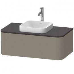 Duravit Happy D.2 Plus HP495109292, Тумба подвесная, 100 см, цвет серый камень