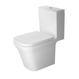 Duravit P3 Comforts Rimless 2163092000, Унитаз напольный, цвет белый