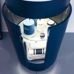 Duravit Starck 1 S1952009898, Тумба напольная, 56 см, цвет темно-синий