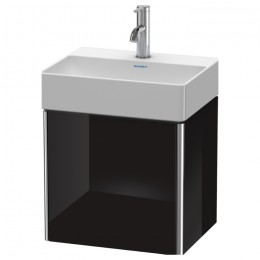 Duravit XSquare XS4060L4040, База под раковину, 43 см, цвет черный