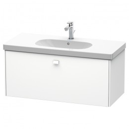 Duravit Brioso BR404701818, Тумба подвесная, 102 см, цвет белый