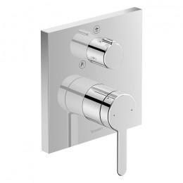 Duravit C.1 C14210011010 Однорычажный смеситель для душа для скрытого монтажа хром