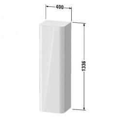 Duravit Happy D.2 Plus HP1261L9292, Пенал подвесной, 133 см, цвет серый камень