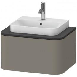 Duravit Happy D.2 Plus HP494009292, Тумба подвесная, 65 см, цвет серый камень