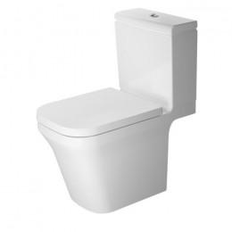 Duravit P3 Comforts Rimless 2163090000, Унитаз напольный, цвет белый