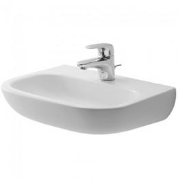 Duravit D-Code 07074500002, Раковина без перелива, цвет белый