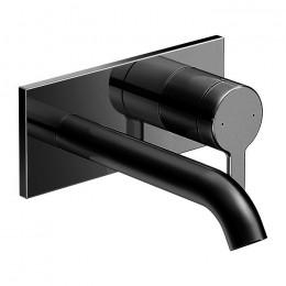 Duravit C.1 C11070003046 Однорычажный смеситель для раковины для скрытого монтажа черный