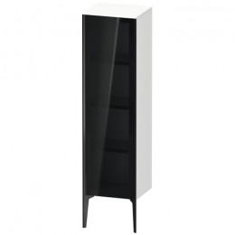 Duravit XVIU XV1367LB222, Шкаф напольный, 133 см, цвет белый/черный