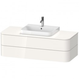 Duravit Happy D.2 Plus HP496202222, Тумба подвесная, 130 см, цвет белый